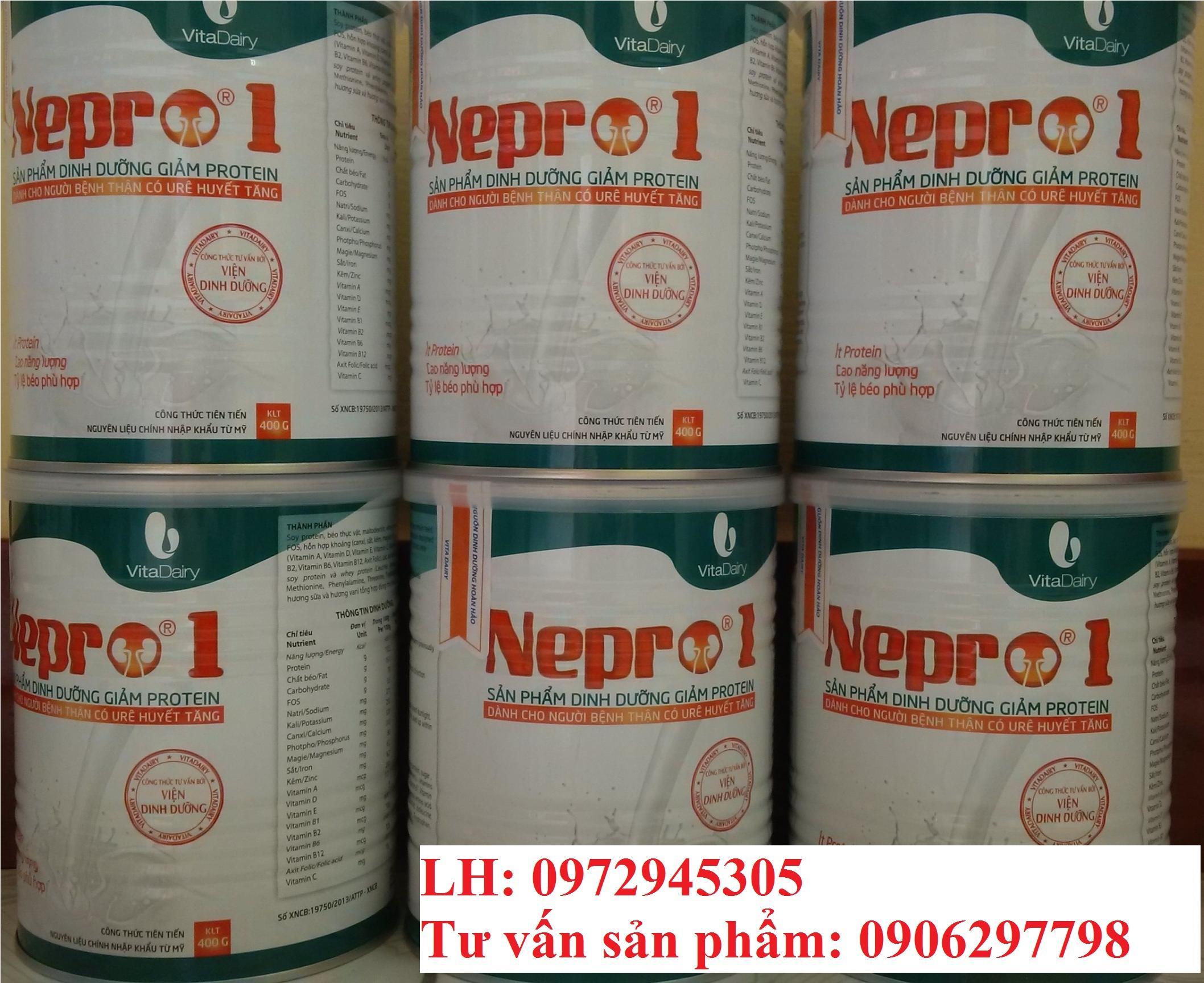 Sữa Nepro 1 cho bệnh nhân suy thận