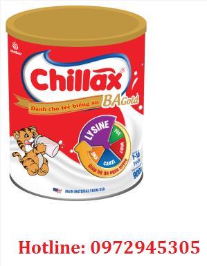 Sữa Chillax BA gold cho trẻ biếng ăn, suy dinh dưỡng
