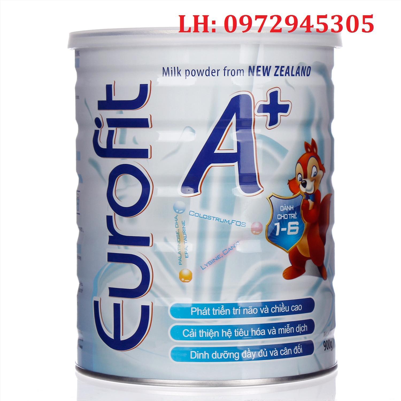 Sữa Euro Fit A+ mua ở đâu, sữa Euro Fit A+ giá bao nhiêu?