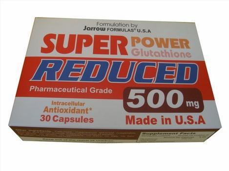 Super Power Glutathione Reduced 500 mg Giải Độc Gan, Chống Lão Hóa