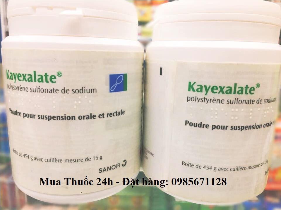 Thuốc Kayexalate giá bao nhiêu, mua ở đâu
