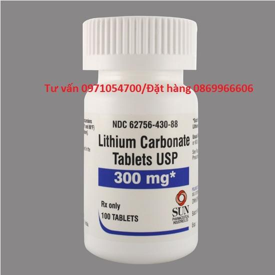 Thuốc Lithium Cacbonat giá bao nhiêu mua ở đâu?